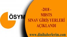 2018-DİB-MBSTSSınava Giriş Belgeleri Açıklandı