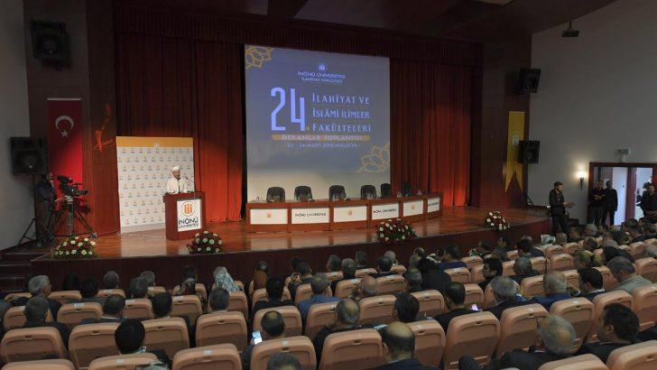 """""""24. İlahiyat ve İslami İlimler Fakülteleri Dekanlar Toplantısı"""" Malatya'da başladı"""