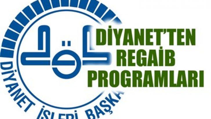 Regaib Kandili Tv Programları