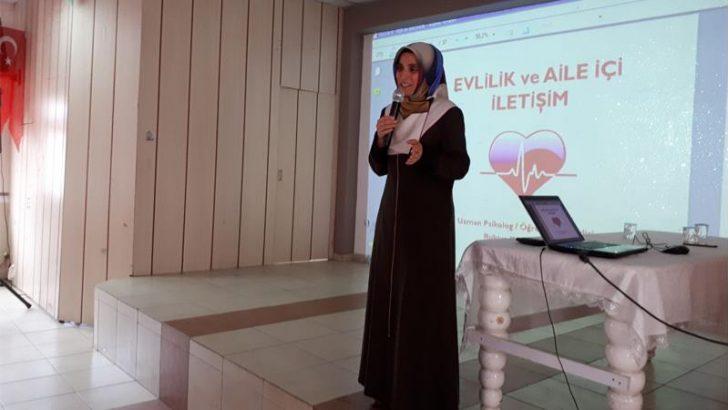 """Ordu ADRB'den """"Toplumda Huzur İçin Ailede Doğru İletişim"""" Konferansı"""
