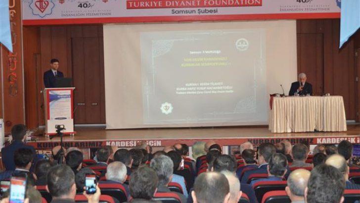 """Samsunda""""Son Devir Karadenizli Merhum Kurralar Sempozyumu"""" Yapıldı"""