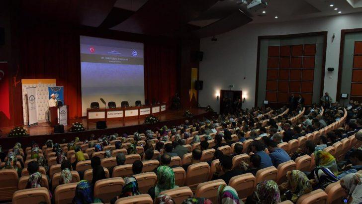 Diyanet İşleri Başkanı, Malatya'da din görevlileri ile bir araya geldi