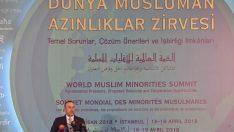 """Dışişleri Bakanı Çavuşoğlu, """"Dünya Müslüman Azınlıklar Zirvesi""""ne katıldı"""