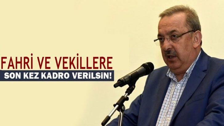 Diyanet-Sen : Son Kez Fahri ve Vekillere Kadro Verilsin !