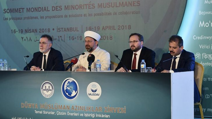 """""""Dünya Müslüman Azınlıklar Zirvesi"""" sona erdi"""