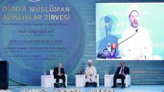 """""""Geçmiş ve Gelecek Perspektifinde Azınlık Müslümanlar"""" paneli yapıldı"""