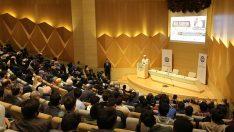 """Erbaş, Marmara Üniversitesi'nde Bilgiden Bilince"""" konulu konferans verdi."""