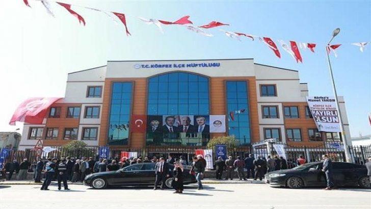 Körfez Müftülüğü Hizmet Binası Törenle Açıldı