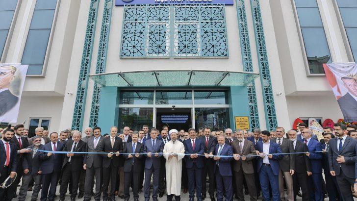 Küçükçekmece İlçe Müftülüğü Yeni Hizmet Binası açıldı