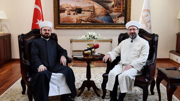 Prof. Dr. Ali Muhyiddîn el-Karadâğî'den Diyanet'e ziyaret