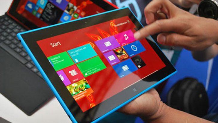 Nokia tablette ilginç hata