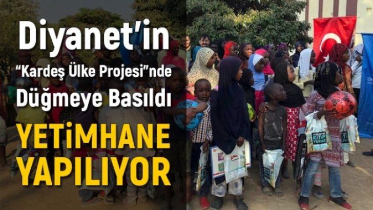 Diyanet Zimbabve'ye Yetimhane ve Külliye İnşa Ediyor
