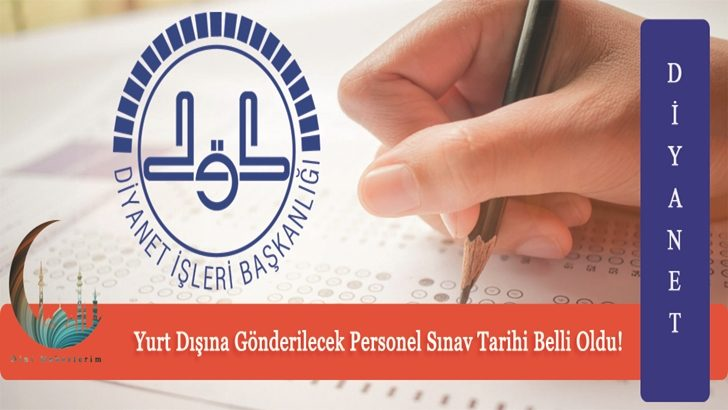 Diyanet Sınav Tarihini Açıkladı !