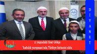 11 yaşındaki Esat Gökçe 'hafızlık yarışması'nda Türkiye birincisi oldu
