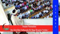 Flaş Teklif ! Diyanet Personeline Din Görevlileri Haftasında Bir Maaş İkramiye Verilsin !