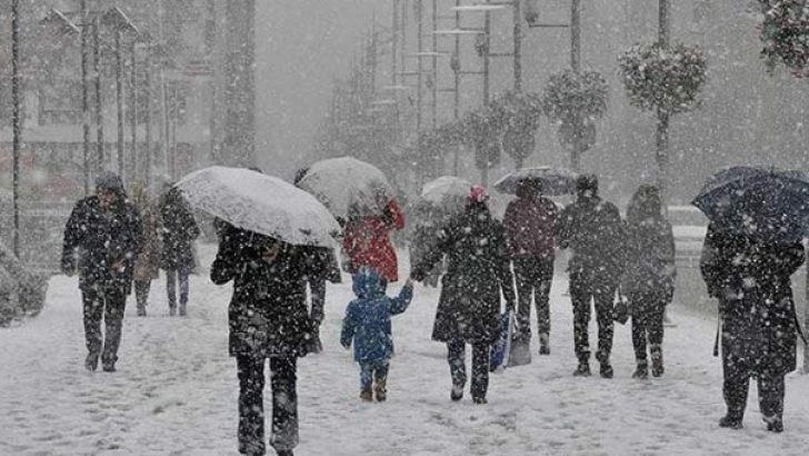 Kar Nedeniyle Okullara Tatil Edilen İller !