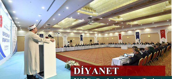 Diyanet 2019 Faaliyetleri Planlama Toplantısı