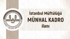 Son Dakika ! İstanbul İl Müftülüğünden 74 Münhal Kadro İçin Sınav İlanı
