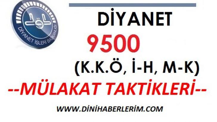 Diyanet 9500 Alımı Mülakat Taktikleri !