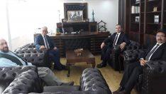 T.T.K. Başkan Yardımcısı Kırpık , K.K.T.C. Din İşleri Başkanlığını Ziyaret Etti