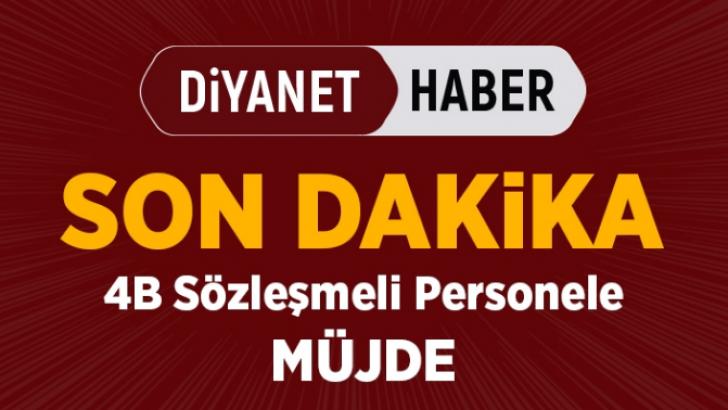 Sözleşmeli Personelin Önü Açıldı…