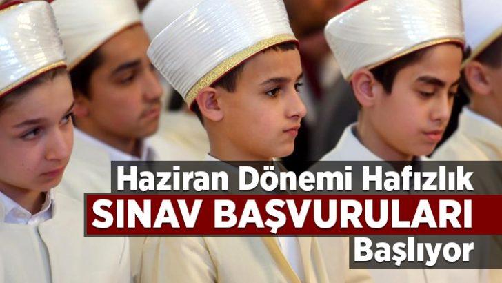 """""""2019 Yılı II. Dönem Hafızlık Tespit Sınavı"""" başvuruları başlıyor."""