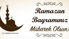 Ramazan Bayramımız Mübarek Olsun !