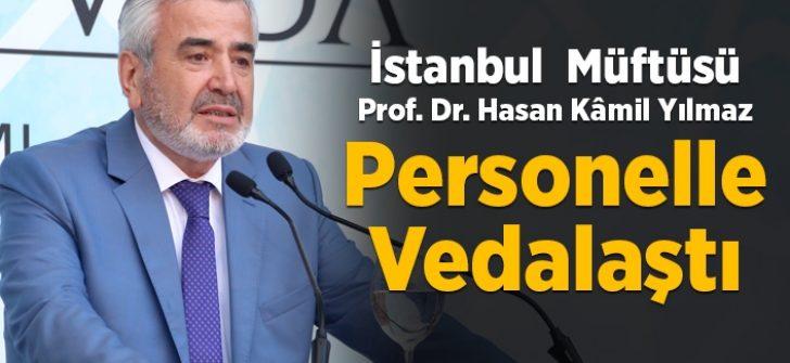 """İstanbul Müftüsü Yılmaz'a """"Sada, Vefa, Veda"""" programı"""