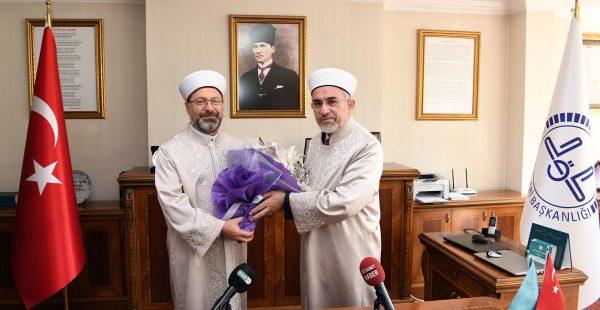 Ankara'nın yeni Müftüsü görevine başladı