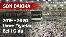 Diyanet 2019-2020 umre fiyatlarını açıklandı