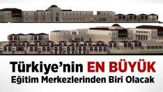 Türkiye'nin en büyük Diyanet Eğitim Merkezlerinden biri inşa ediliyor