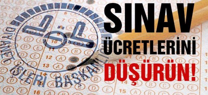 Ösym MBSTS Sınav Ücretlerini Düşürsün !