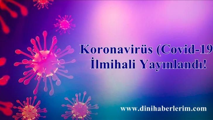 Koronavirüs (Covid-19) İlmihali Yayınlandı!