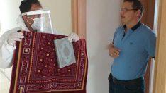 Karantinadaki Vatandaşlara Kur'an-ı Kerim ve Seccade hediye edildi