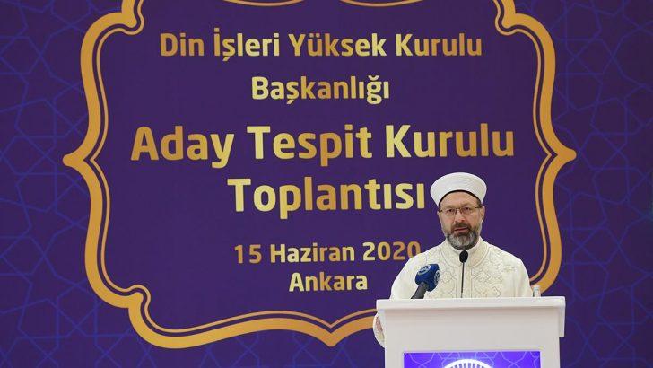 Din İşleri Yüksek Kurulu 'Aday Üye' seçimi yapıldı