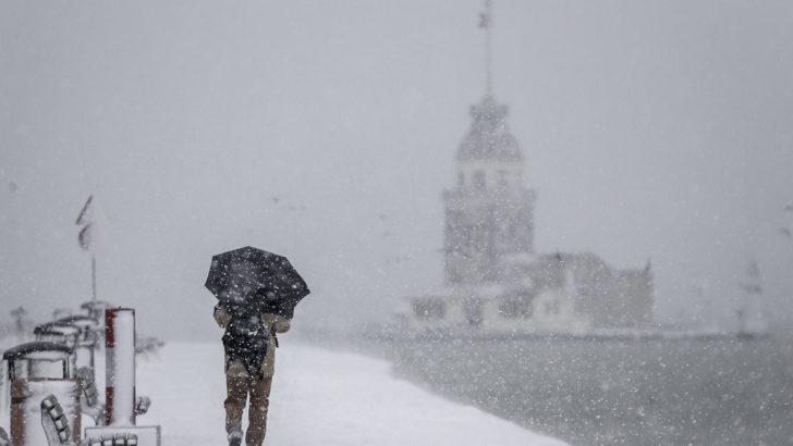 Meteoroloji'den Marmara Bölgesi için kar uyarısı: 15 cm'yi geçecek
