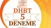 2020 DHBT  -5- Fasikül Deneme